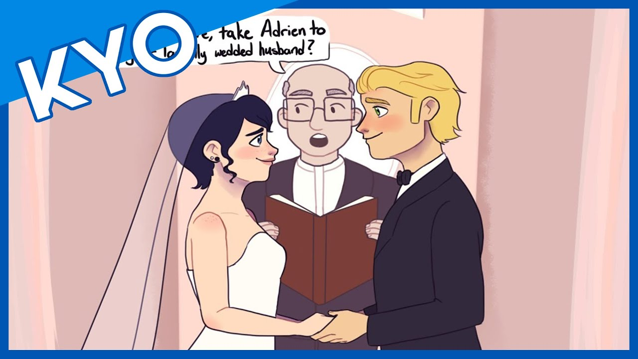 Ladybug And Cat Noir Get Married