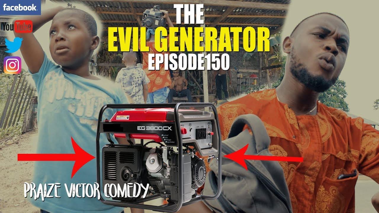 THE EVIL GENERATOR episode150 (PRAIZE VICTOR COMEDY) PICNIC