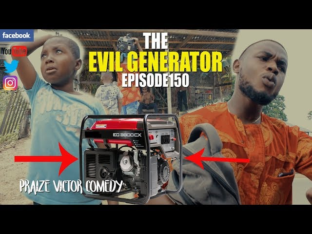 THE EVIL GENERATOR episode150 (PRAIZE VICTOR COMEDY) PICNIC