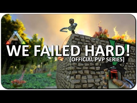 Jumped Server To Fail Raid! | New Official PVP Servers | ARK: Survival Evolved | #17