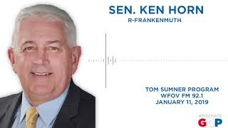 Sen. Horn joins the Tom Sumner Program
