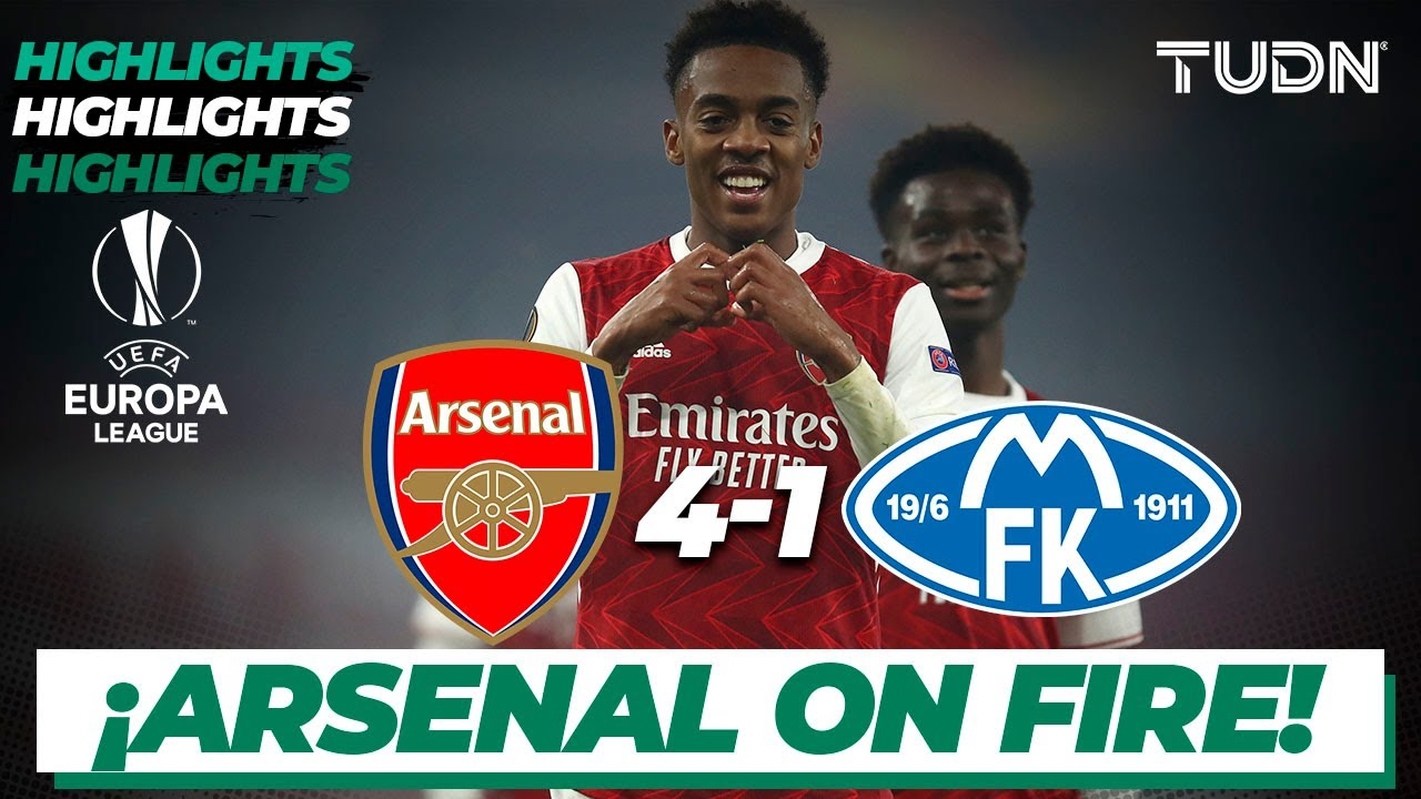 Highlights | Arsenal 4-1 Molde FK | Europa League 2020/21 - J3 | TUDN