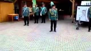 Schützenfest in Haren  Ems Teil II. - Antreten bei Balcke.flv