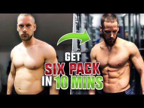 Get 6PACK ABS in 10mins! Train w/ Coach Richard