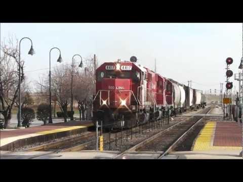 Railfanning Bensenville, Illinois/Tower B-17, 25.11.12