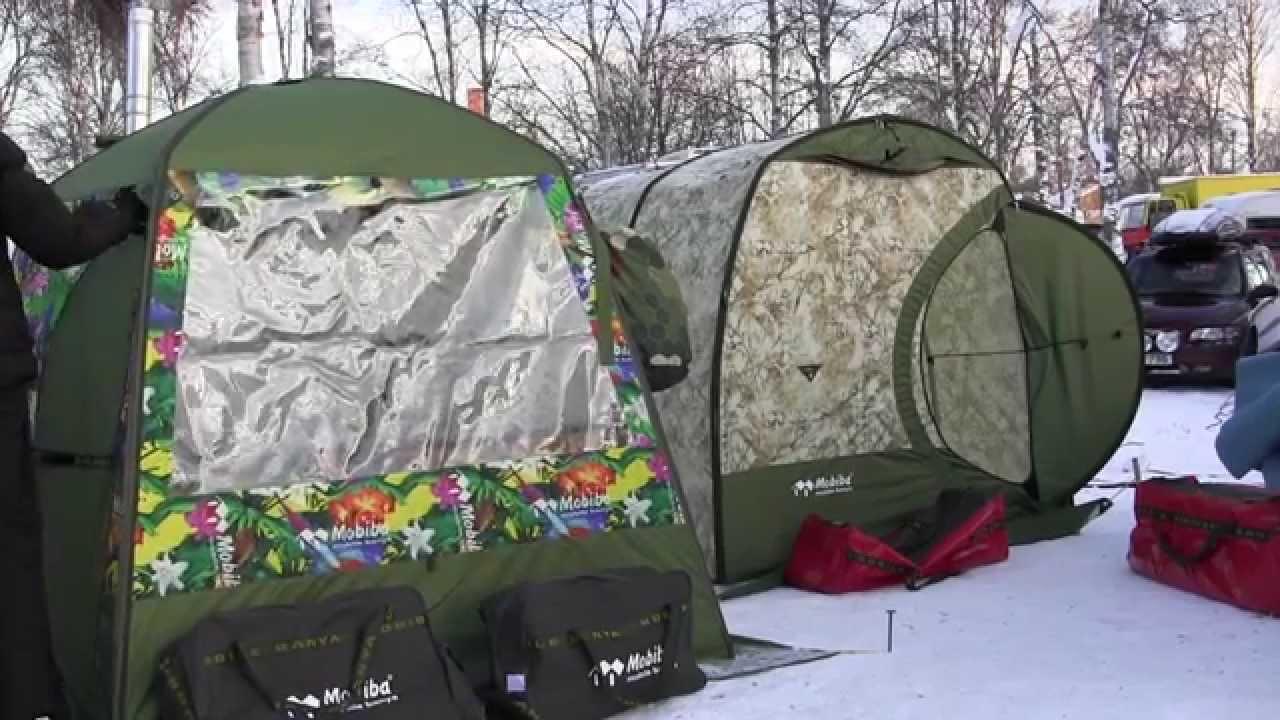 tält för båt