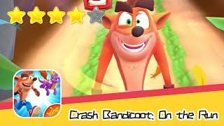 Crash Bandicoot: On the Run! Walkthrough Run, spin, swipe and smash Recommend index four stars