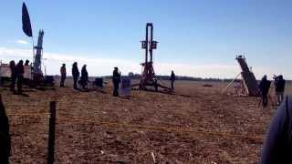"Catapult Launch At Morton ""pumpkin Chunkin"""