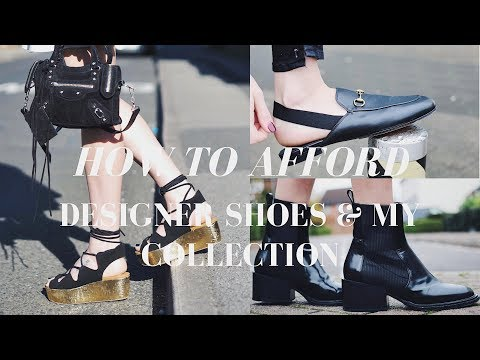 HOW TO SAVE MONEY ON DESIGNER SHOES & MY DESIGNER SHOE COLLECTION | Money saving tips & tricks