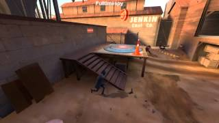 Team Fortress 2 - Friendly enemies let me cap :-)