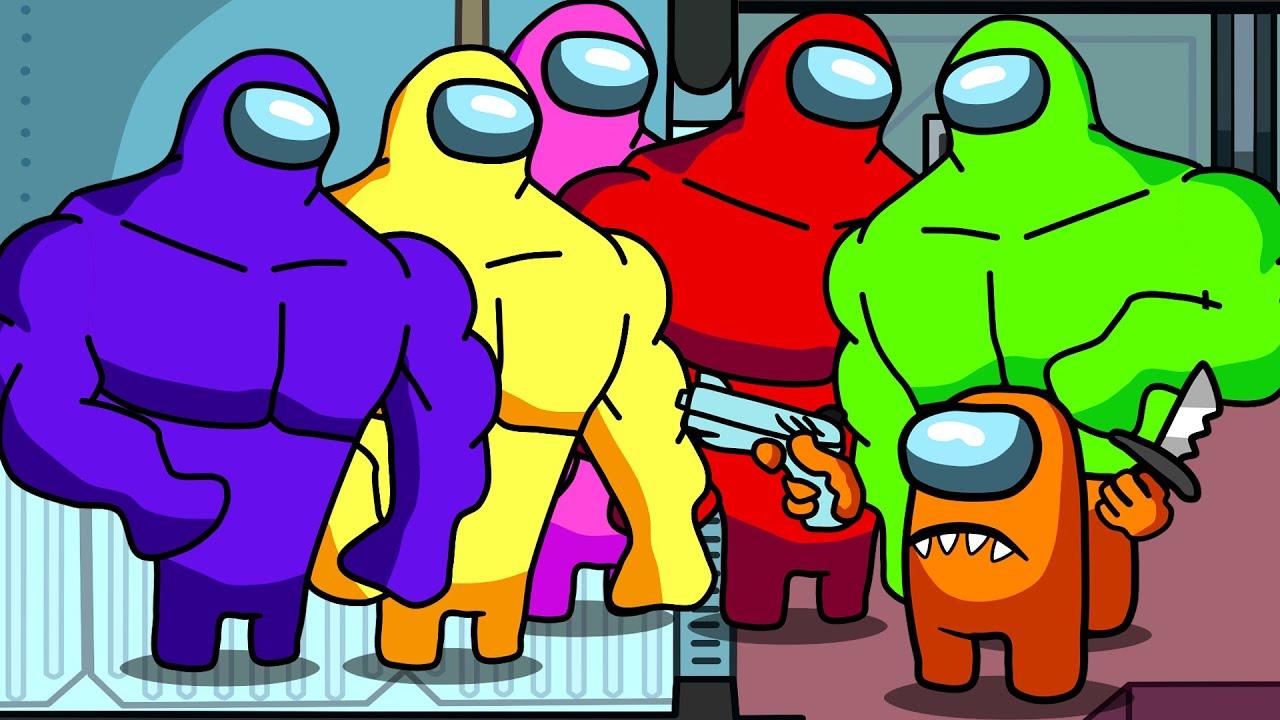 Among Us Impostors Basketball and Buffs Crewmate Among Us Animation