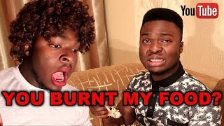 When You Burn Food In An African Home (Samspedy)