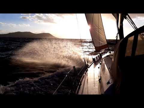 Sailing in the Tyrrhenian  Sea