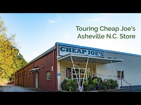 Cheap Joe's 2 Minute Art Tips - Touring The Asheville N C  Store