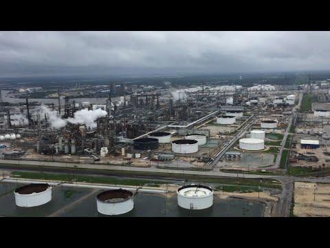 Raw: Aerials Show Magnitude of Houston Floods