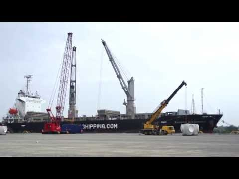 The Marine Commerce Terminal in New Bedford, Massachusetts