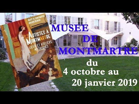 Lieux Et Ateliers D'Artistes à Découvrir Au Musée De Montmartre