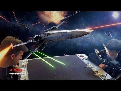 Finals | X-Wing | FFG Worlds 2015 | Paul Heaver - Nathan Eide