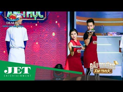 Quách Tuấn Du lịch lãm thi nấu ăn cùng MC Huỳnh Ngân trong Đấu Trường Ẩm Thực