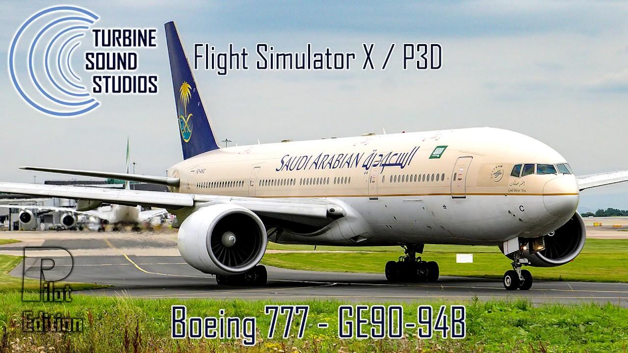 Just Flight - TSS Boeing 777 GE-90-94B Pilot Edition Sound Package