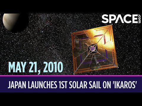 OTD in Space – May 21: Japan Launches 1st Solar Sail on 'Ikaros' Spacecraft