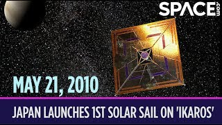 OTD in Space – May 21: Japan Launches 1st Solar Sail on