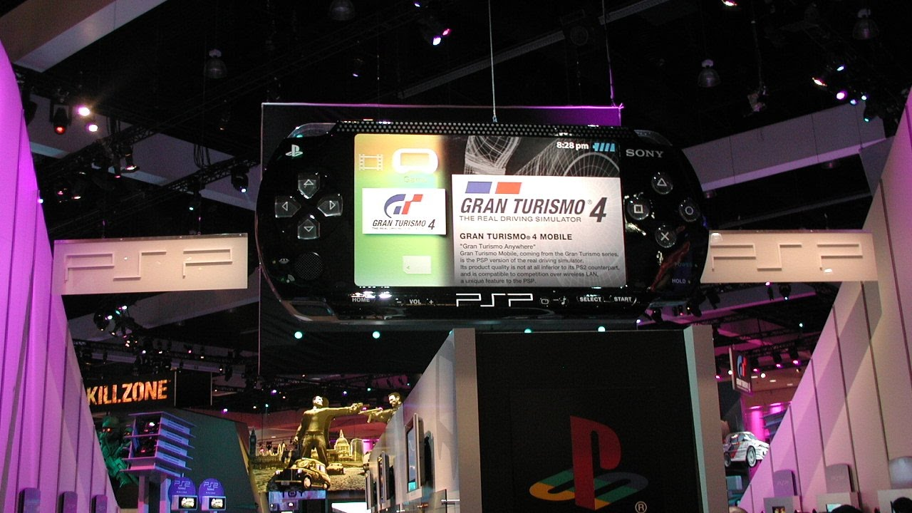 Image result for playstation portable launch 2004
