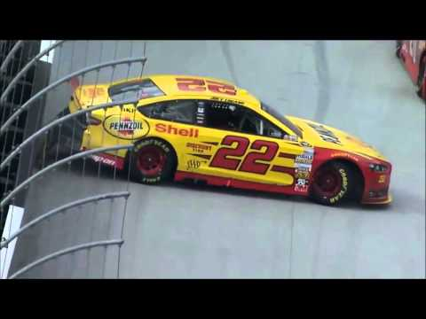 Joey Logano Crash Compilation