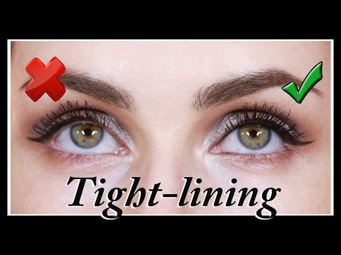 tightlining  pro makeup tip for beginners  youtube