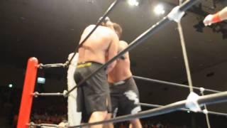 CMA初代ヘビー級タイトルマッチ 2009年11月10日後楽園ホール 勝利の瞬間...