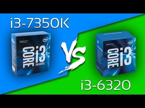 i3-7350K vs i3-6320 - Comparison