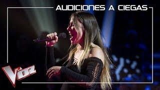 Viki Lafuente canta 'Piece of my heart' | Audiciones a ciegas | La Voz Antena 3 2019