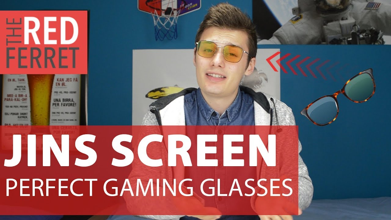 3845c600c6 JINS SCREEN - Protect Your Eyes With These Glasses! [REVIEW] - YouTube