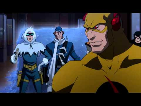 Flash vs the Rogues Justice League The Flashpoint Paradox