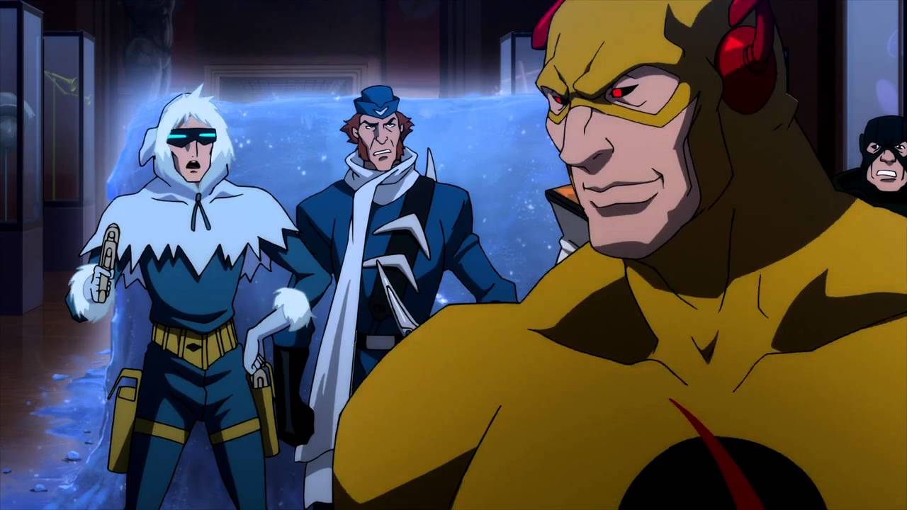 flash vs the rogues justice league the flashpoint paradox - youtube