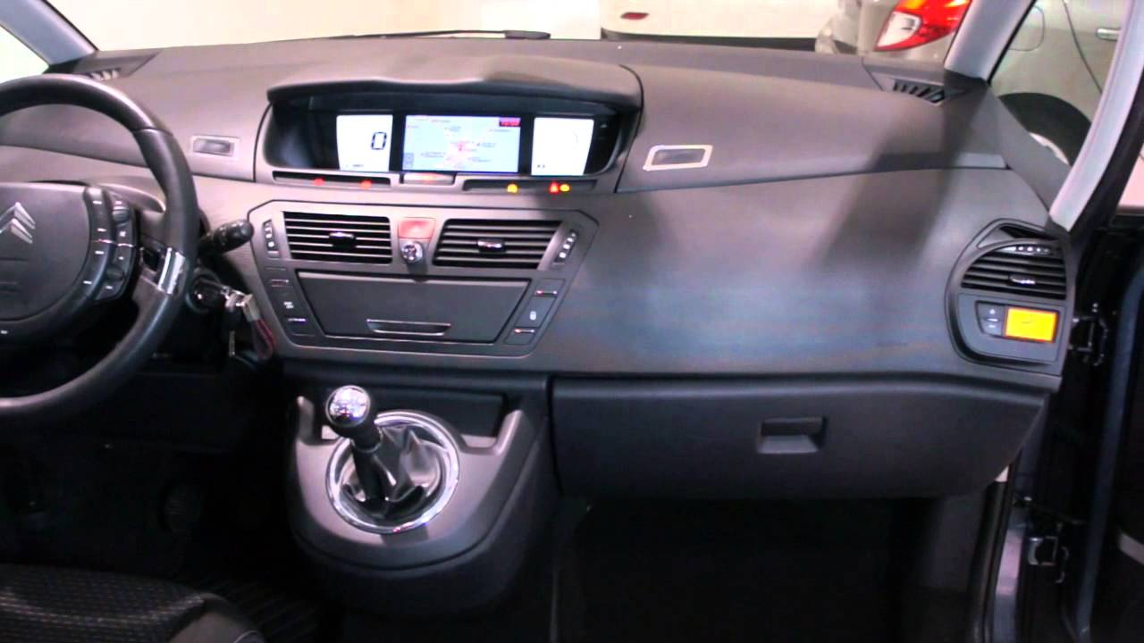 citroen gran c4 picasso 1 6 hdi 110cv avatar a o 2010 youtube. Black Bedroom Furniture Sets. Home Design Ideas
