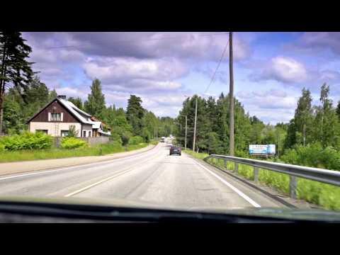 Road trip - Finland, Hamina - Luumäki - Lappeenranta