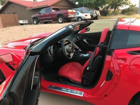 2017 Corvette C7 Coupe Hardtop Versus Convertible