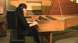 Kayoung An plays Bach on the Harpsichord (Recorded/Film by Simon)
