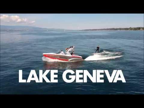 Lake Geneva Wakesurf Session