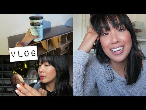vlog | project pan + bite beauty liquified lip first impression