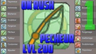 [Dofus] Jeremy-sadi - Rush métiers 200 #6 - Pêcheur