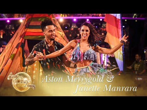Aston Merrygold and Janette Manrara Salsa to 'Despacito' - Strictly Come Dancing 2017