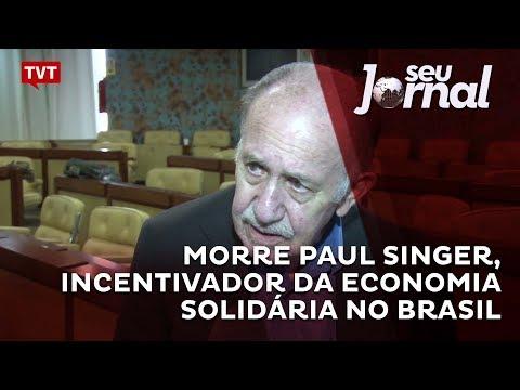 Morre Paul Singer, incentivador da economia solidária no Brasil