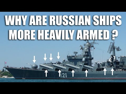 Why Russian Ships Are More Heavily Armed Compared to the US?