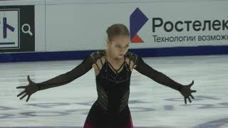 Александра Трусова ПП Гран при кубок Ростелеком 21 11 2020