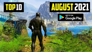 TOP 10 NEW ANDŔOID GAMES IN AUGUST 2021 | HIGH GRAPHICS (ONLINE/OFFLINE)