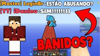 TENTAMOS ABUSAR DO BUG NO SKYMINIGAMES E DEU RUIM...
