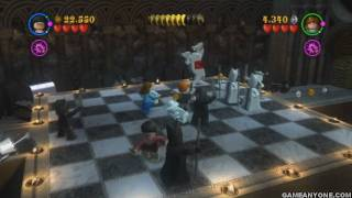 Lego Harry Potter: Years 1-4 Wii Co-Op - Part 14 - [Face of the Enemy - Lord Voldemort]