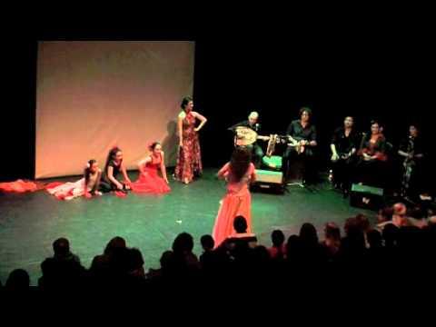 Flamenchica Mundi in Jeugdtheater de Krakeling 9 april 2011